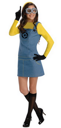 Couple Minion costumes  sc 1 st  minion costumes for adults & MINION COUPLE COSTUME Despicable Me t-shirts Halloween costumes