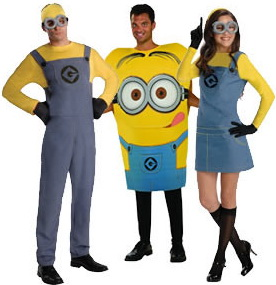 MINION COUPLE COSTUME Despicable Me t-shirts Halloween costumes